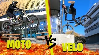 THE FLOOR IS LAVA #4  (Moto trial vs Street Trial avec @Kenny THOMAS )