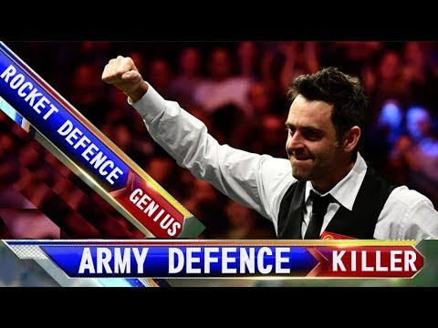 RONNIE ROCKET O'SULLIVAN ARMY DEFENCE ROCKET THE KILLER!
