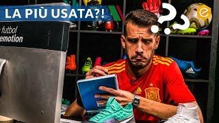 Le scarpe da calcio più utilizzate ai MONDIALI 2018