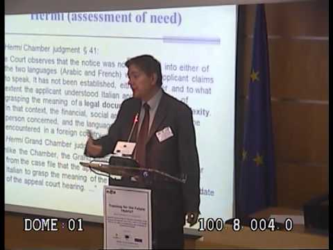 Background and Content of the EU Directive on the Right to Interpretation and Translation in Crimina