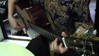 Right here waiting Guitar Trinh Dinh Thi