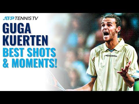 Guga Kuerten Best-Ever ATP Shots & Moments!