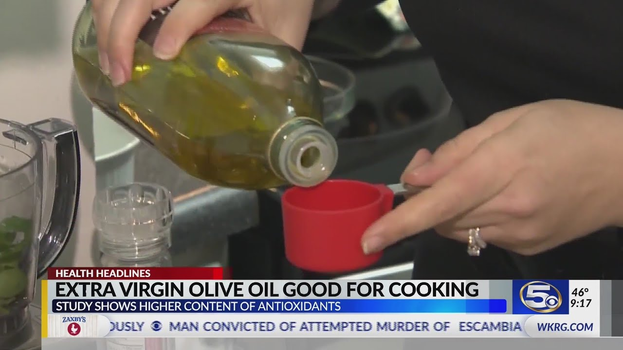 Study: Olive oil healthiest cooking oil thumbnail