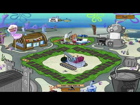 SpongeBob Diner Dash 2: Two Times The Trouble - Level #1 - Basics