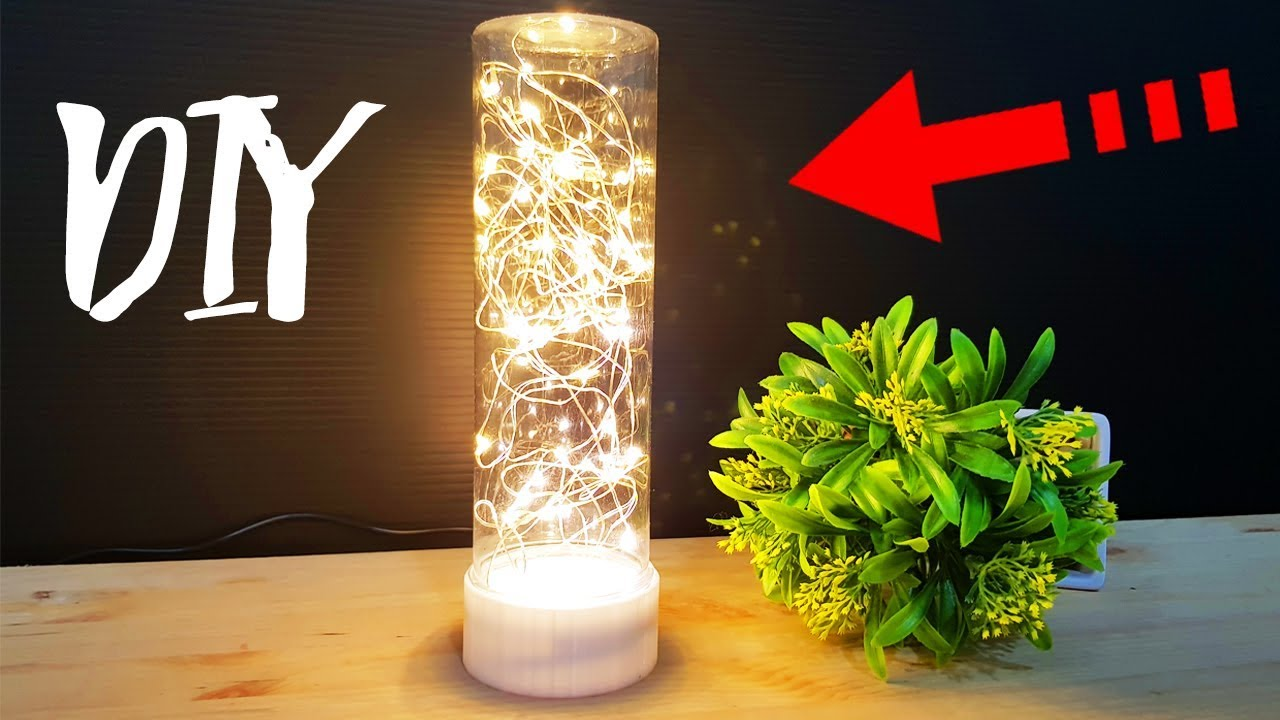 Diy 3d Printed Lamp Led String Lights Youtube