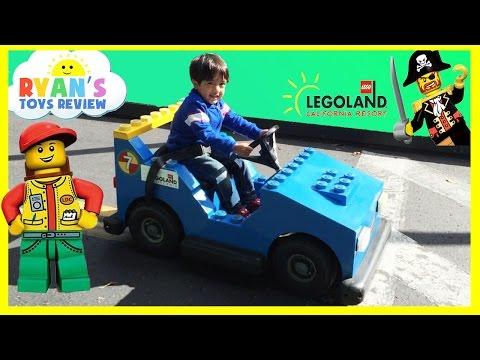 LEGOLAND Family Fun Amusement Theme Park for kids Children Play Area Ryan ToysReview