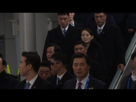 Kim Jong Un's sister arrives in South Korea for historic visit
