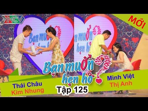 BẠN MUỐN HẸN HÒ - Tập 125   Minh Việt - Nguyễn T.Anh   Thái châu -  Kim Nhung   20/12/2015