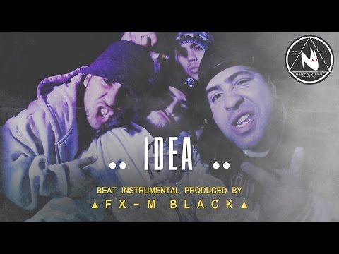 "BASE DE RAP - ""IDEA"" - RAP BEAT HIP HOP INSTRUMENTAL (Prod. Fx-M Black)"