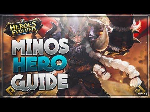 Heroes Evolved - Minos Hero Guide | Gameplay