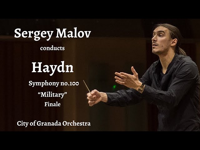 "#Sergey Malov CONDUCTS Haydn ""Military"" Symphony, Finale"