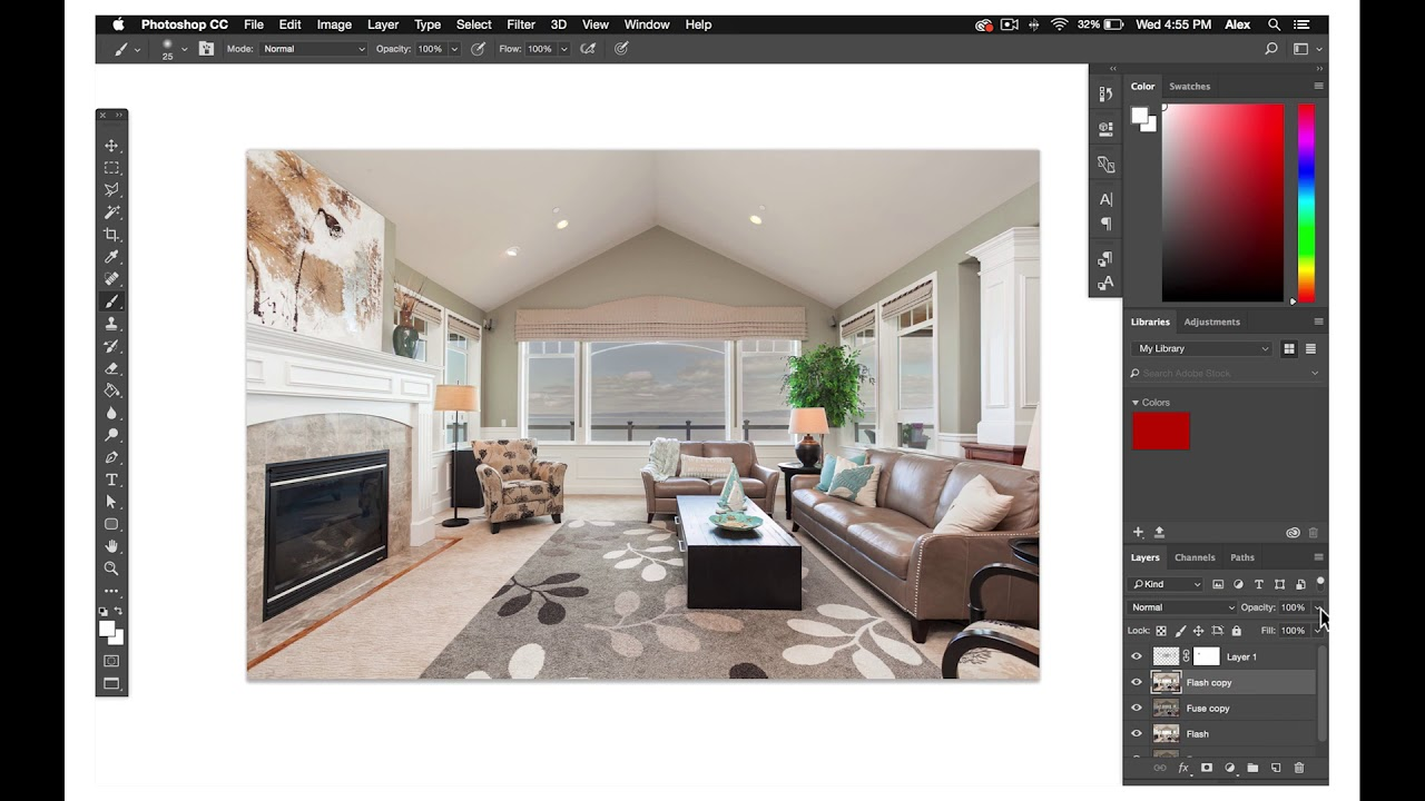 Photographer Tutorial 25: The basics of blending flash with fuse for real estate editors