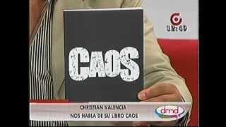 Entrevista sobre el libro CAOS en DMD, GamaTV