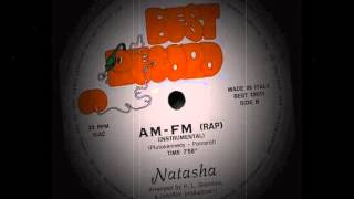 Natasha King  ‎– AM-FM  (Rap) (Instrumental)