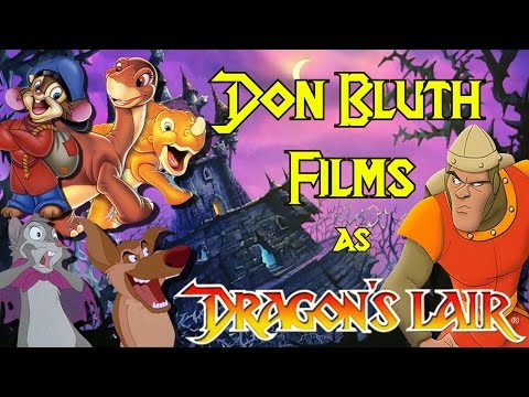 Don Bluth Films As Dragon's Lair Games