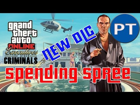 """GTA 5-EXECUTIVE AND OTHER CRIMINALS PART 3!"".VIP MISSIONS AND SPENDING MORE CASH"