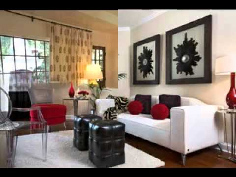 Casual living room decorating ideas - YouTube