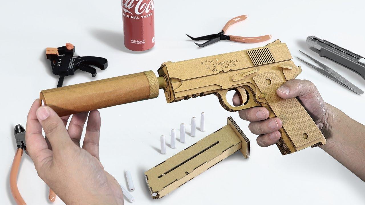 ダンボールで銃をつくる|How to Make a Cardboard Gun