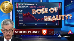 Bitcoin & Cryptocurrency Markets UP! Traditional Markets DOWN! Can it CONTINUE?Commercial Blockchain
