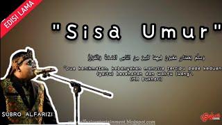 "Download Mp3 "" Sisa Umur "" H. Subro Alfarizi    Video Lyric"