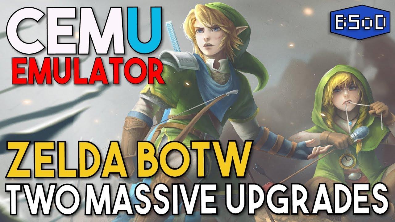 Cemu Emulator | Zelda BOTW Gets Two Massive Updates, FPS++