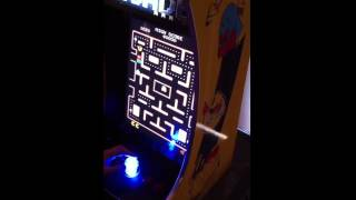 Brand New Pac Man Multicade Arcade Machine In Action