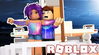 ESCAPING THE TITANIC ON ROBLOX!