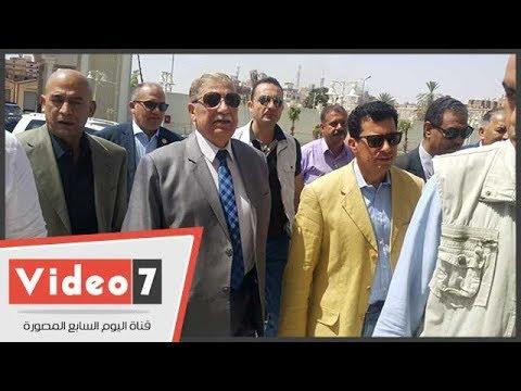 وزير الشباب والرياضة ومحافظ الإسماعيلية يتفقدان مشروع منشآت النادي الإسماعيلي  - نشر قبل 24 ساعة