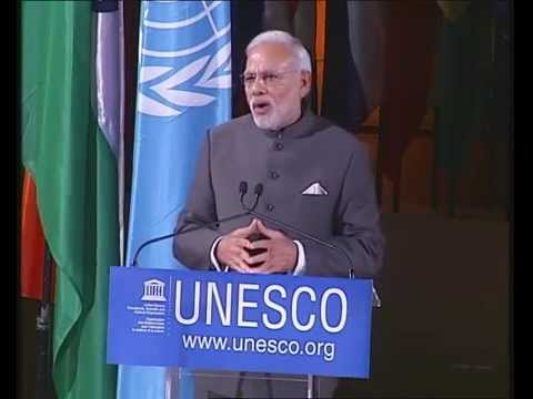 PM Modi at UNESCO