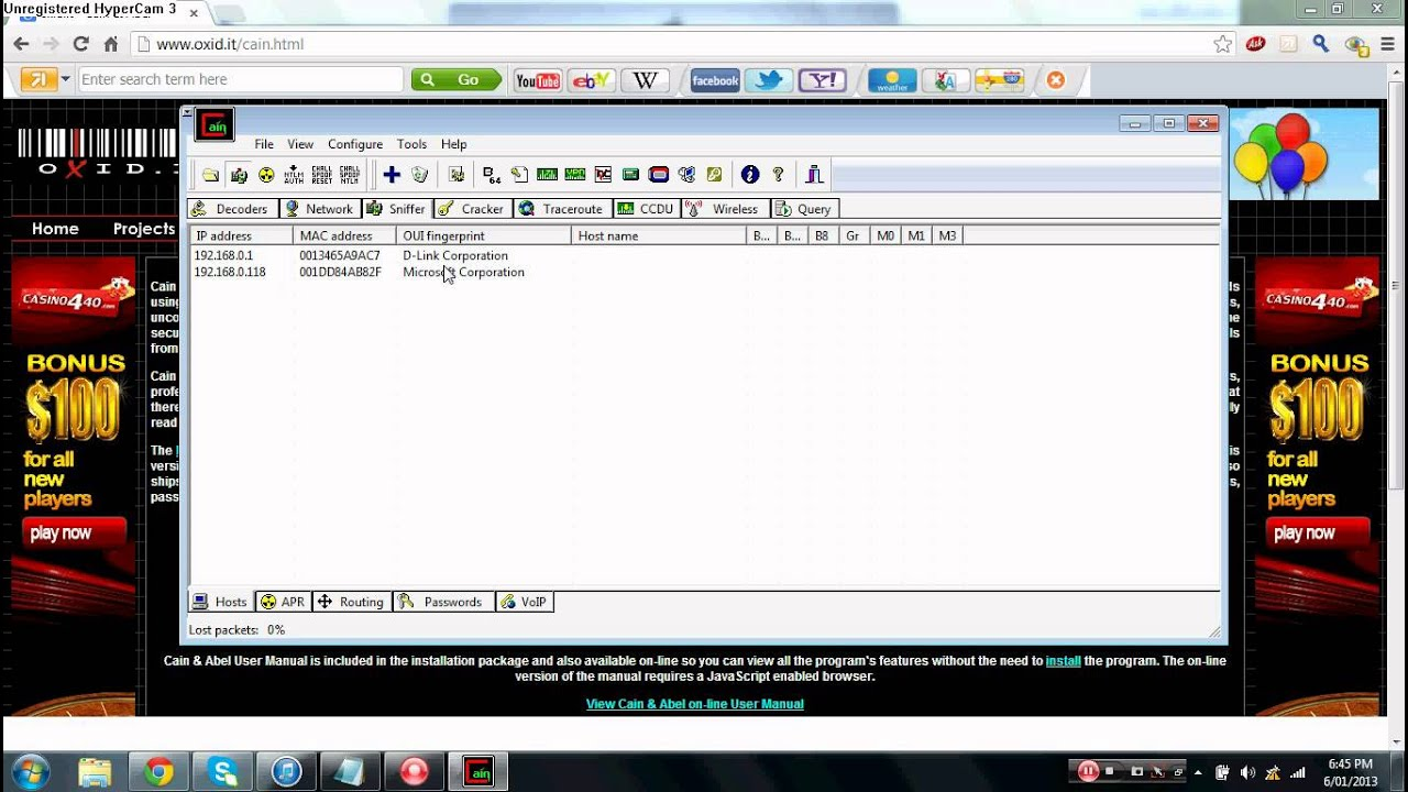 how to use cain and abel to get ips for xbox 360 youtube rh youtube com Cain and Abel Software Cain and Abel Bible Story