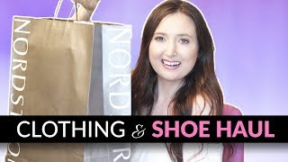BLOOMINGDALES CLOTHING HAUL + DESIGNER SHOES FROM NORDSTROM