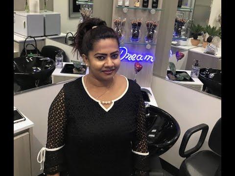 Straight from Sri Lanka, woman opens eyebrow threading