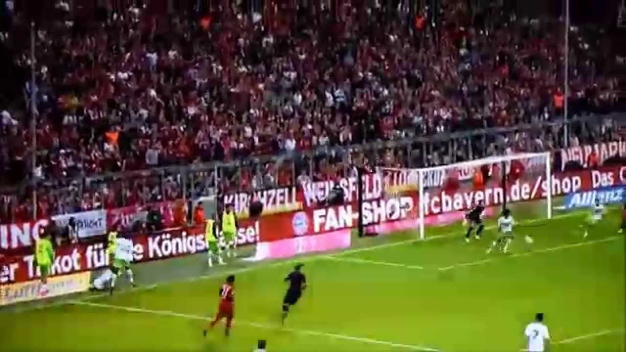 Robert Lewandowski SHOW@ 5 goals in 9 minutes. Great RL9!!! 22.09.2015