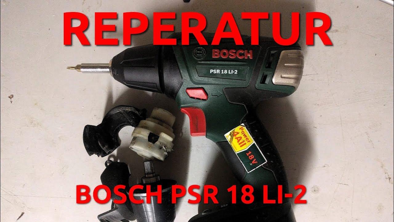 Reperatur Bosch Psr18 Li 2 Youtube