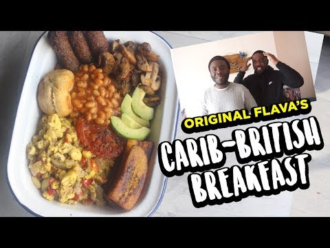 VEGAN CARIBBEAN/BRITISH BREAKFAST!