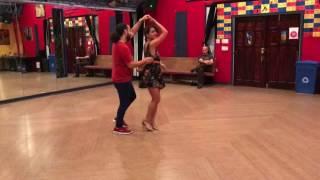 Marietta Villalobos and Aaron Omid Gallegos - Kizomba demo