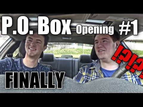 P.O. Box Opening #1 // FINALLY GOT SOMETHING