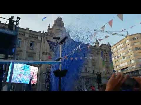 Chupinazo de la Semana Grande de Santander 2019
