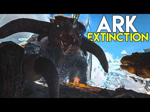 ARK EXTINCTION DLC ANNOUNCED! - OFFICIAL TRAILER REACTION!!!