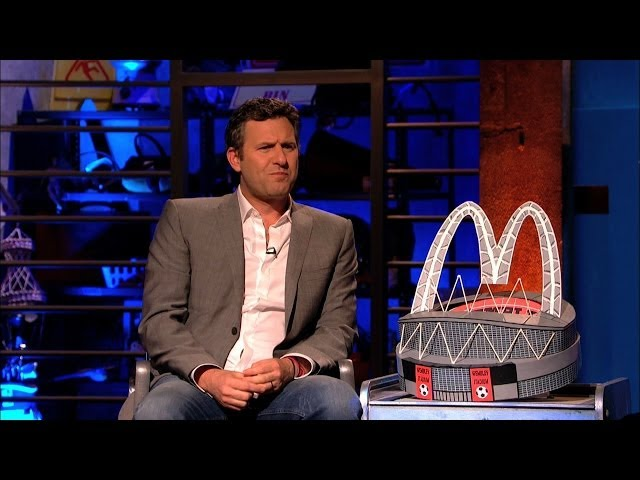 Adam Hill has a rant about naming rights on sports stadiums – Room 101: Series 3 Episode 6 – BBC One