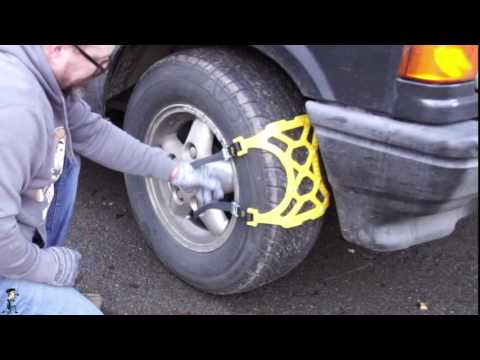 TechChecker #129 Snow chains for cars be ready for the snow this year !