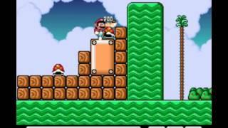 Super Mario Bros 2 - Mega Mario X (Demo) Part 3