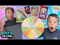 Kids Sour Candy Game! Warheads and Toxic Waste!