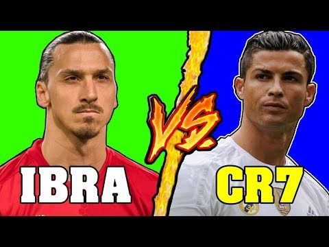 Zlatan Ibrahimovic VS Cristiano Ronaldo - Battaglia Rap Epica - Manuel Aski