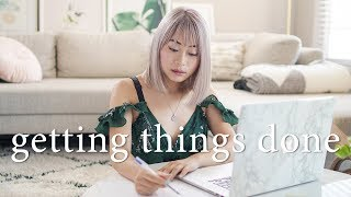 How I Plan & Organize My Life to Get Things Done 📒