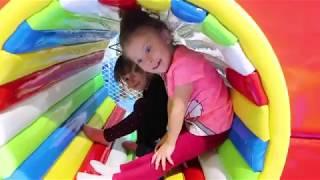 Melly in GURA RECHINULUI   Un NOU loc de joaca din BRASOV   Playground for KIDS