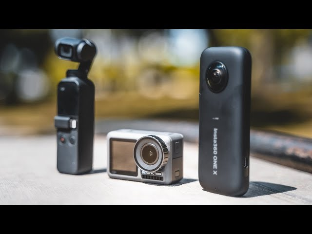 Osmo Action vs Insta360 One X vs Osmo Pocket - WHICH ONE IS THE SMOOTHEST? [4K]
