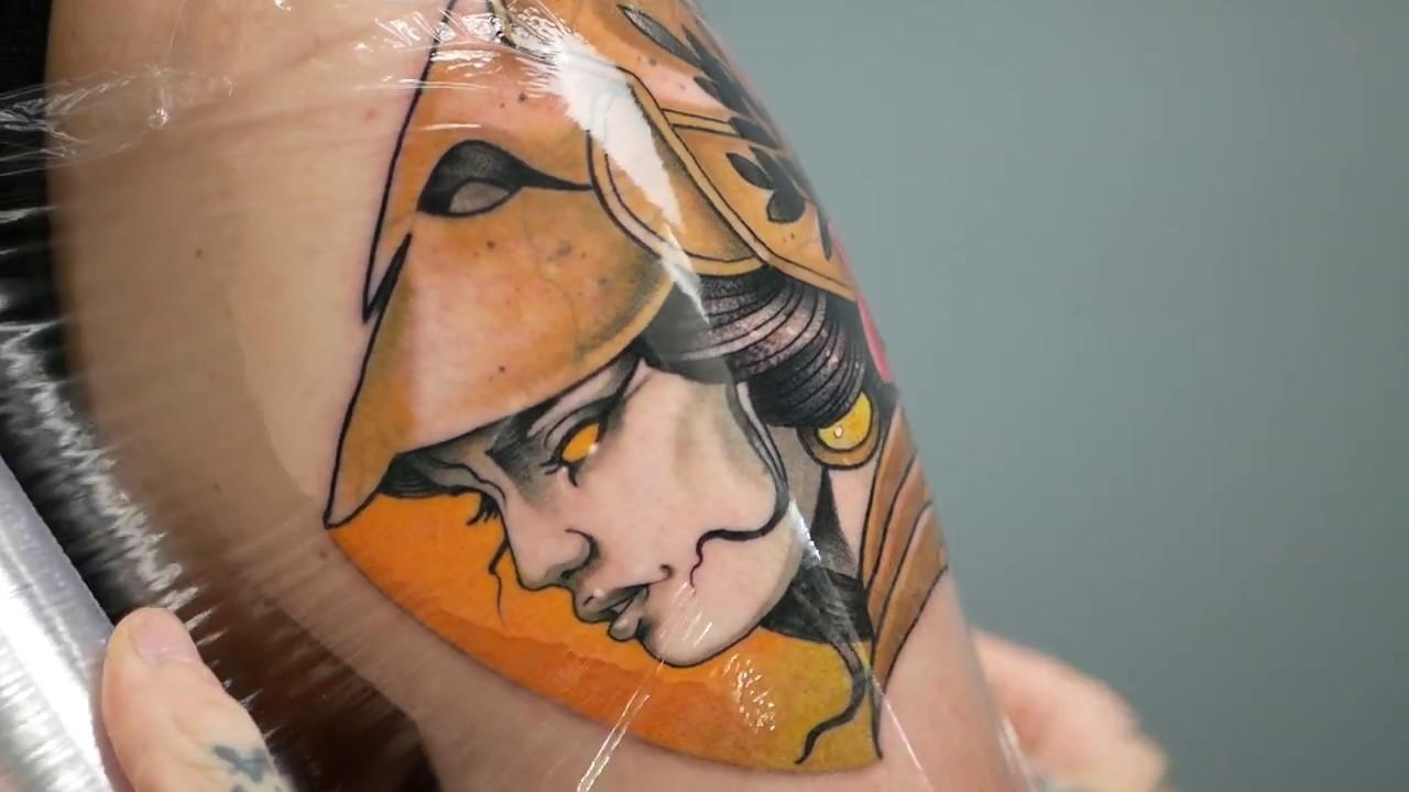 Athena Goddess Of Wisdom Tattoo
