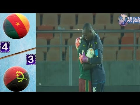 Cameroon 4-3 Angola All Goals & Full Highlights    U-17 Africa Cup of Nations