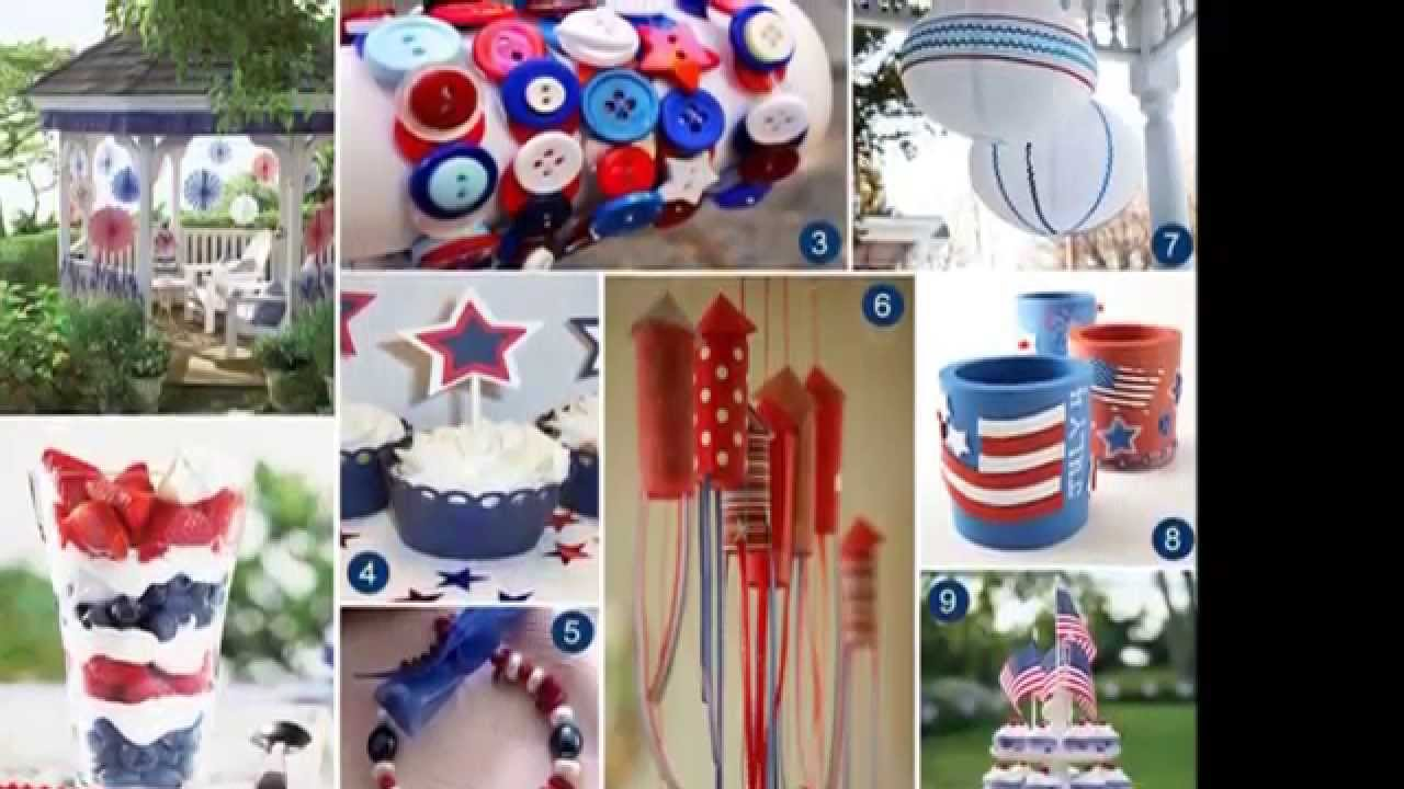 Easy DIY Independence day 2015 decorations - YouTube